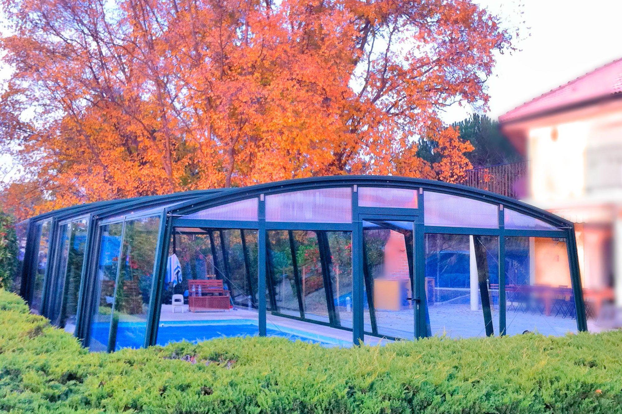 Cubierta piscina alta lightcover la mejor relaci n for Cubierta piscina precio
